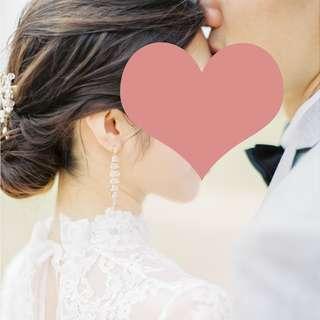 鋯石超閃耳環 Beautiful zirconia longdiamond earrings