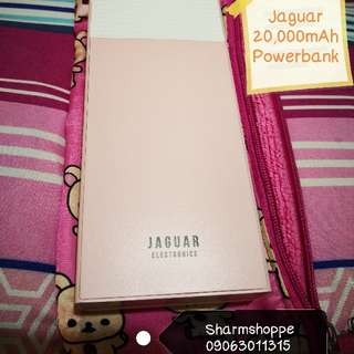 Jaguar 20,000mAh Powerbank