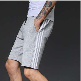 🚚 🆕$10 [Instock] S0027 Grey Stripes Shorts
