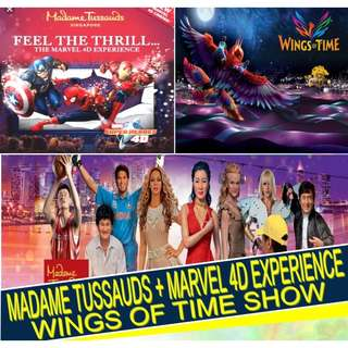 Madame Tussauds / Wing of Time / Trick Eye