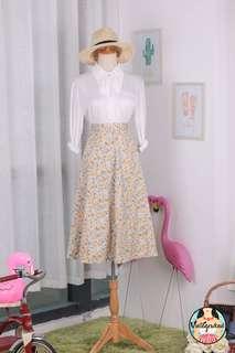 🍿 Vintage Midi Skirt VS1456