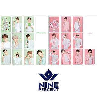 ✨(PREORDER) Nine percent lomo cards ✨