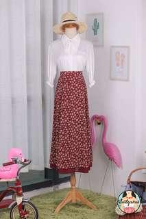 🍿 Vintage Midi Skirt VS1455