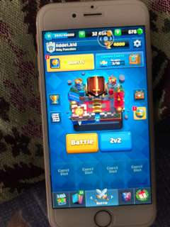 CLASH ROYALE 4.3K ACCOUNT(URGENT)
