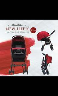 Cocolatte Stroller New Life Red NEW