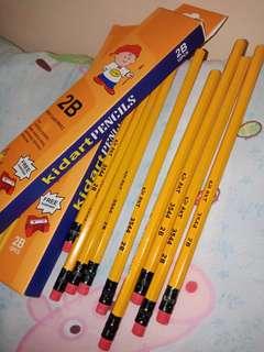 kid arts pencil 7php each