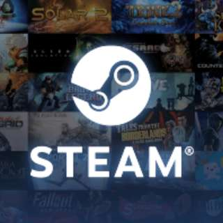 Steam Credits - 0.85 X  able to send gift card or games (ingames items included)