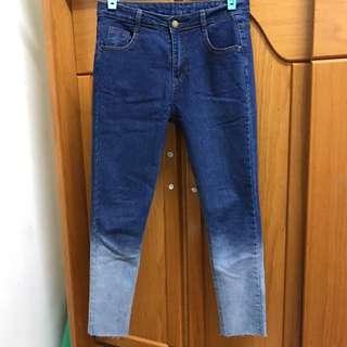 🚚 特別刷色牛仔褲