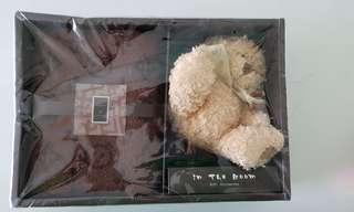 Towel and bear gift set