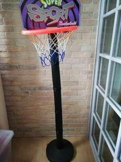Basketball stand indoor