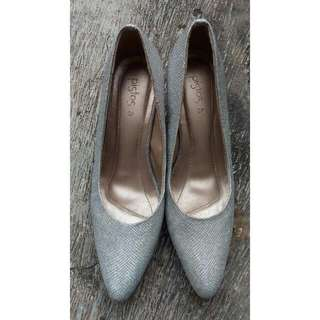 Pistos Shoes Wedges Ori (Preloved)