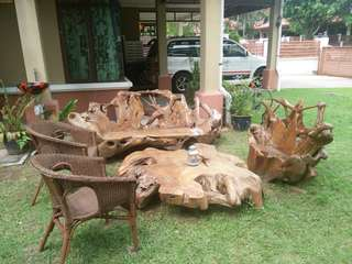WOOD MADE FROM KAYU JATI