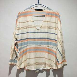 CMNC stripe shirt (zara look alike)