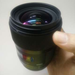 Sigma 35mm 1.4 ART LENSES