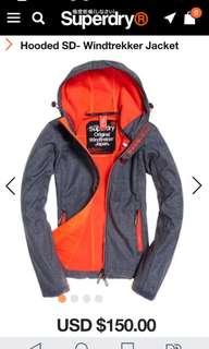 Superdry 外套 Hooded SD Windtrekker jacket - XXS