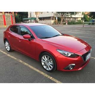 <小馬愛車> 2015 Mazda 3 2.0 紅