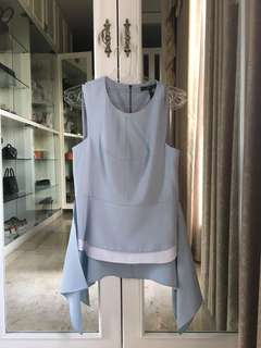 BCBG Baby Blue Top