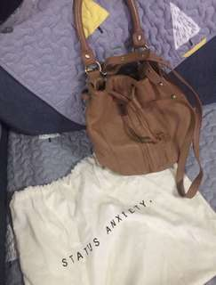 Status Anxiety Soft Leather Bucket Bag