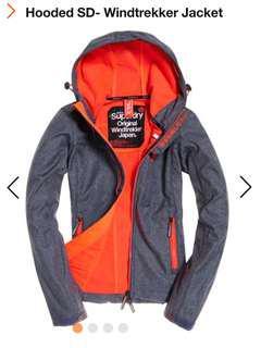 Superdry Jacket Hooded SD Windtrekker Jacket
