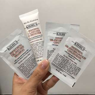 Kiehl's Smoothing Oil-Infused Sample Set