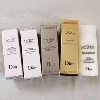 Dior skincare bundle