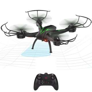 FPV Quadcopter Drone with Camera Video 2.4GHz Headless Mode Altitude Hold One-Key Function VR Headset-Compatible Gravity Induction Damage Resistance