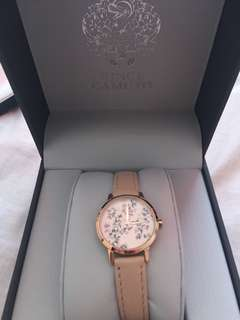 Vince Camuto Rose Gold Floral Watch