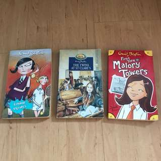 Enid Blyton St. Clare's Malory Towers