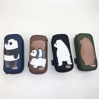 PRE-ORDER! We Bare Bears Pencil Case 🐻❤️