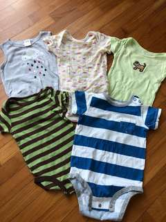 🚚 Preloved baby apparel bundle