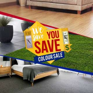 !!WE SAVE YOU SAVE COLOUR SALE!!!