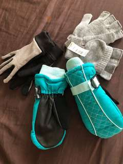 Gloves for kids 3 pairs