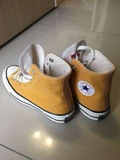 Converse1970 芥黃高筒鞋