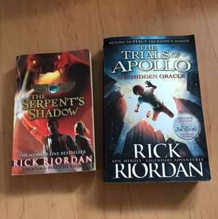 Percy Jackson Trials if Apollo The Serpent's Shadow