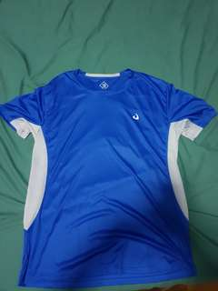 Blue Dri Fit tee