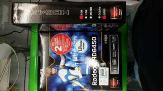 Sapphire radeon HD6450 2GB