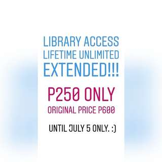 UNTIL JULY 5 ONLY!