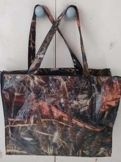 (防水有拉綀)(2 zipper bag)size 14×11时 bag