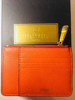 PERNELLE MILANO leather coins bag and card holder
