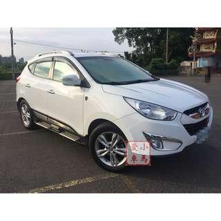 <小馬愛車> 2012 Hyundai IX35 2.4 白