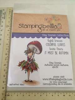 Stamping bella tiny townie stamp