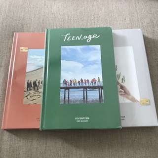 Seventeen TEENAGE album