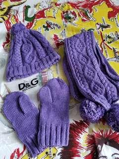 D&G 冷帽冷頸巾冷手襪