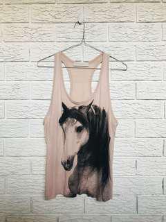 Stella McCartney horse singlet