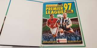 Merlin's English Premier League 1997 Sticker Album Book