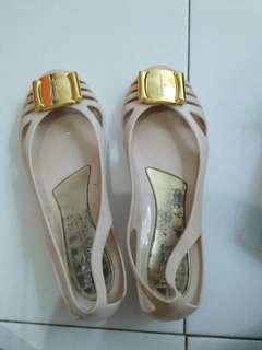 Flat shoes jelly salvatore ferragamo