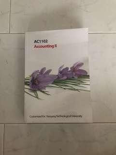 AC1102 Accounting II