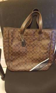 Coach Heritage pattern Tote bag