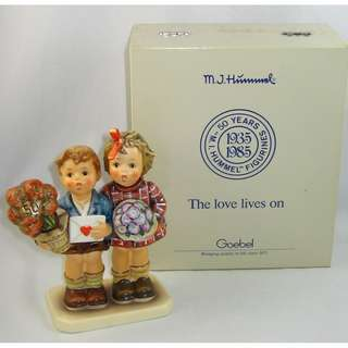 """Hummel #416  """"Jubilee"""" The Love Lives On Mint with original box"""