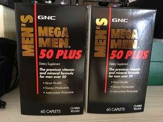 GNC Mega Men 50+ 營養補充品
